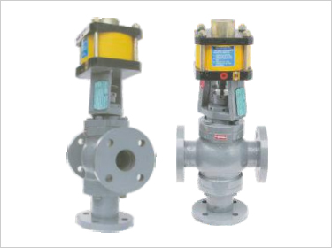 Pneumatic Three Way Control Valves